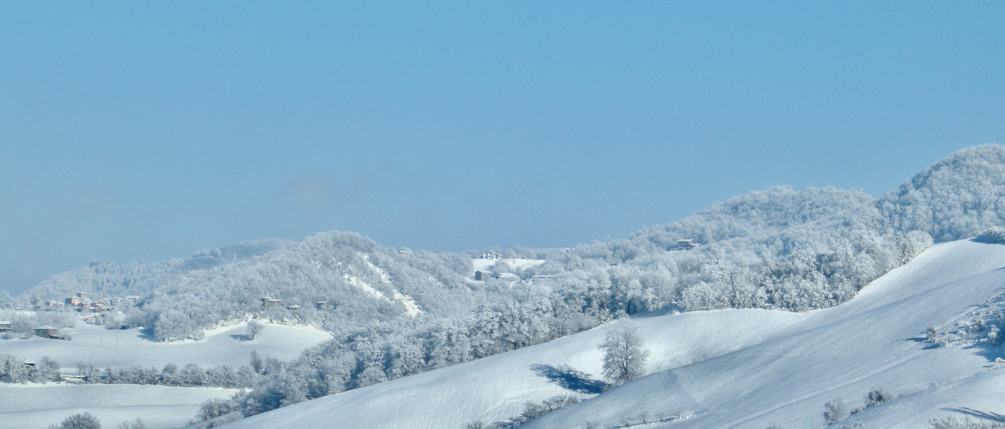 Montefenaro visto da Montese